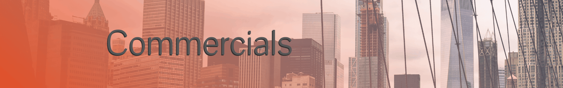 VR Company Commercials Banner